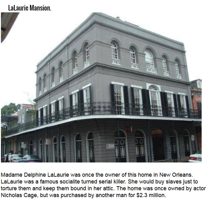 Famous Houses With A Dark Past (6 pics)