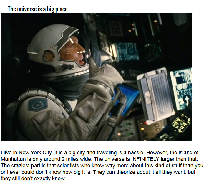 The 10 Things You Learn Watching Christopher Nolan's Interstellar (10 pics)