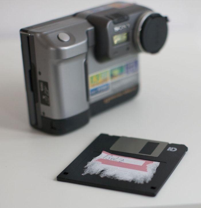 Sony Mavica MVC-FD88 (7 pics)