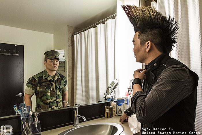 Meet The Real People Behind The Military Uniforms (22 pics)