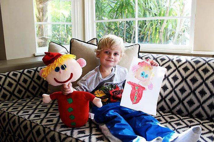 Children's Drawings Get Turned Into Plush Toys (17 pics)