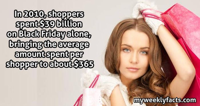 14 Facts You Need To Know About Shopping On Black Friday (14 pics)