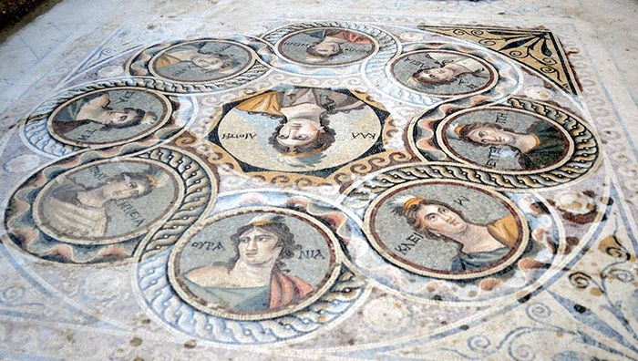 Turkey Has Uncovered These 2,000 Year Old Mosaics (14 pics)