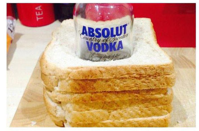 The Perfect Way To Smuggle Vodka (6 pics)