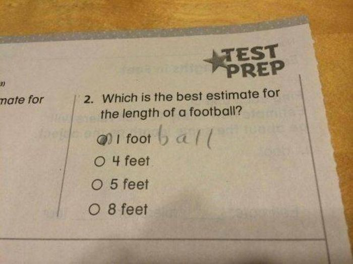 Kids Just Have All The Right Answers When It Comes To Tests (20 pics)