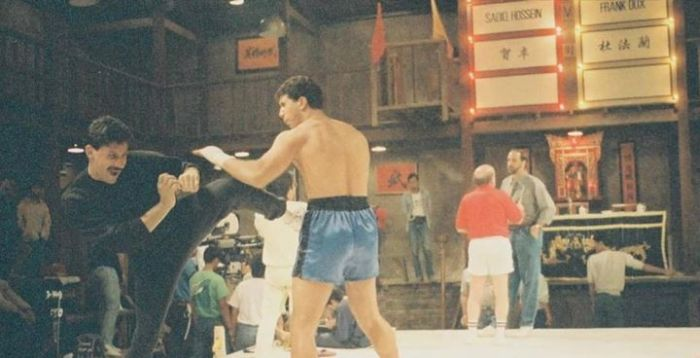 Behind The Scenes Photos From The Movie Bloodsport (35 pics)