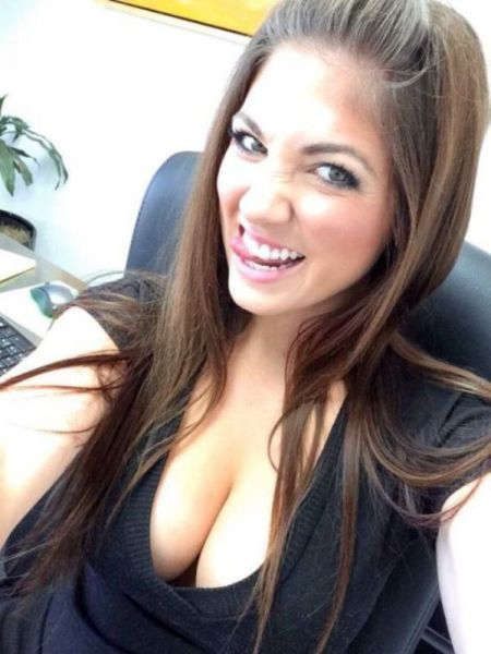 Beautiful Babes With A Nice Big Bust (55 pics)