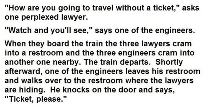 This Is Why Lawyers And Engineers Shouldn't Compete (3 pics)