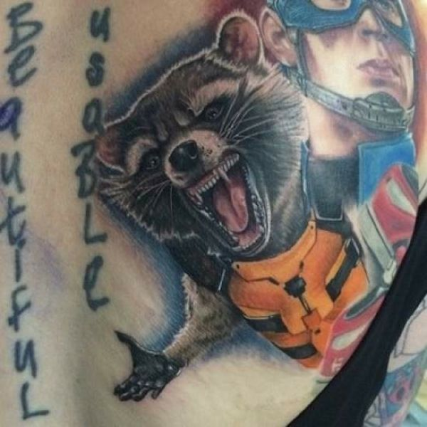 These Tattoos Are Just Plain Awesome (61 pics)