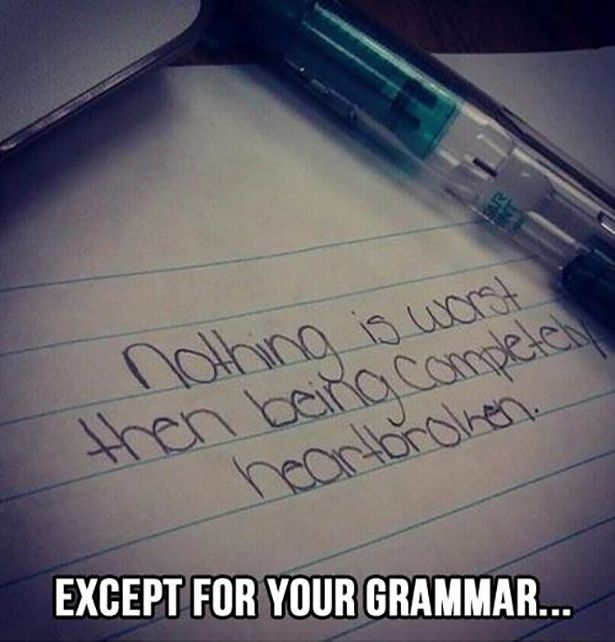 Grammar And Spelling Are Things You Need To Know (18 pics)