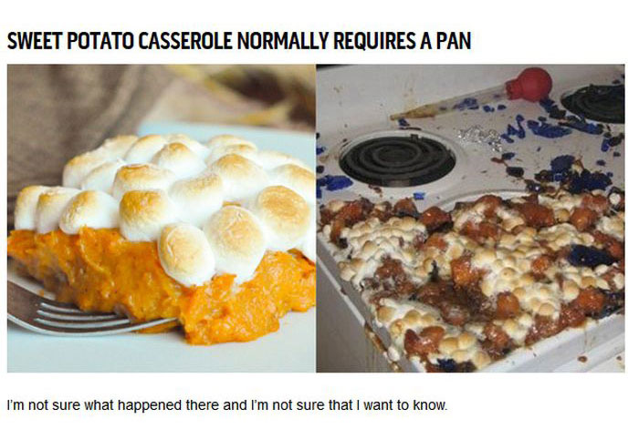 Thanksgiving On Pinterest And In Real Life (12 pics)