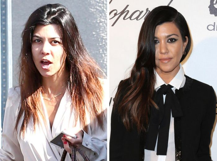 The Kardashians Look Very Different Without Makeup (5 pics)