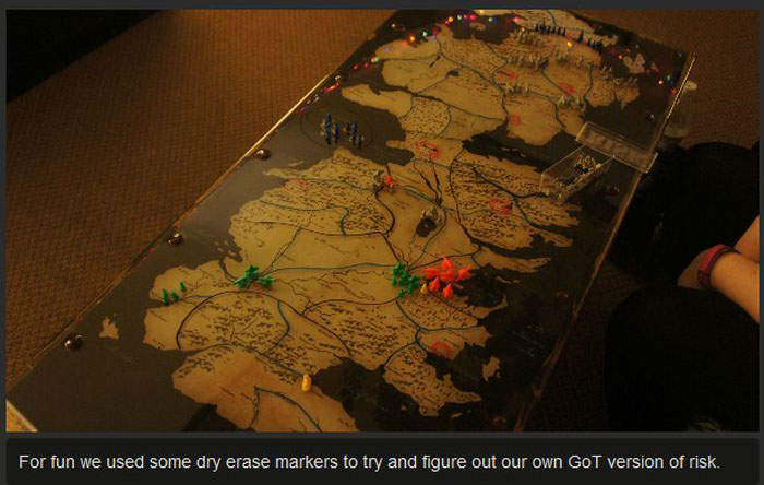 These People Made A Table Of Westeros From Game Of Thrones (18 pics)