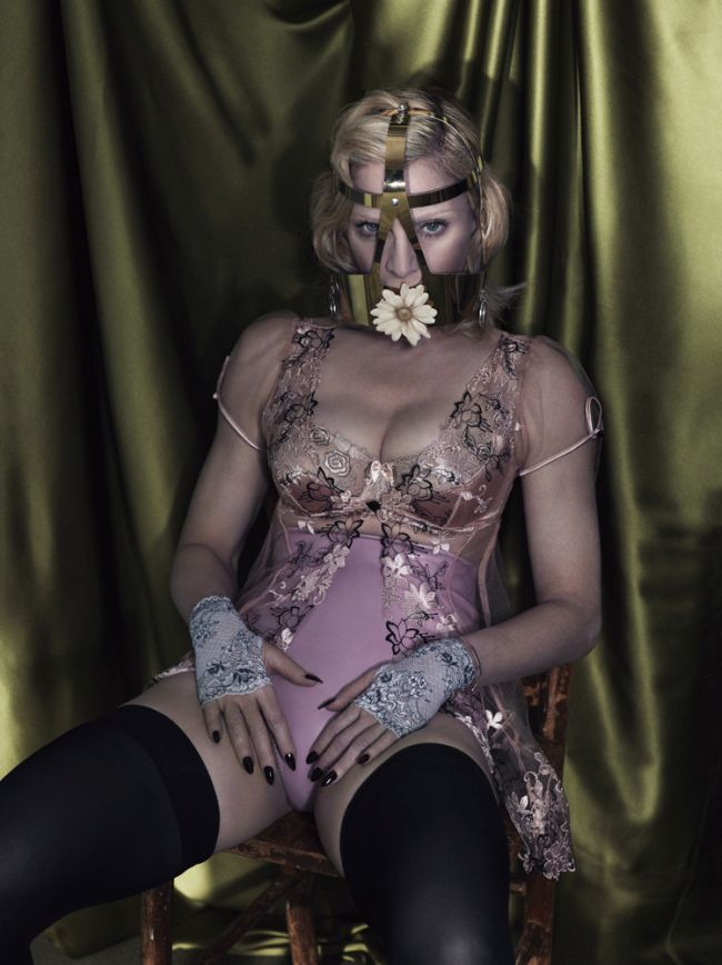 Madonna Poses Topless For Interview Magazine (18 pics)