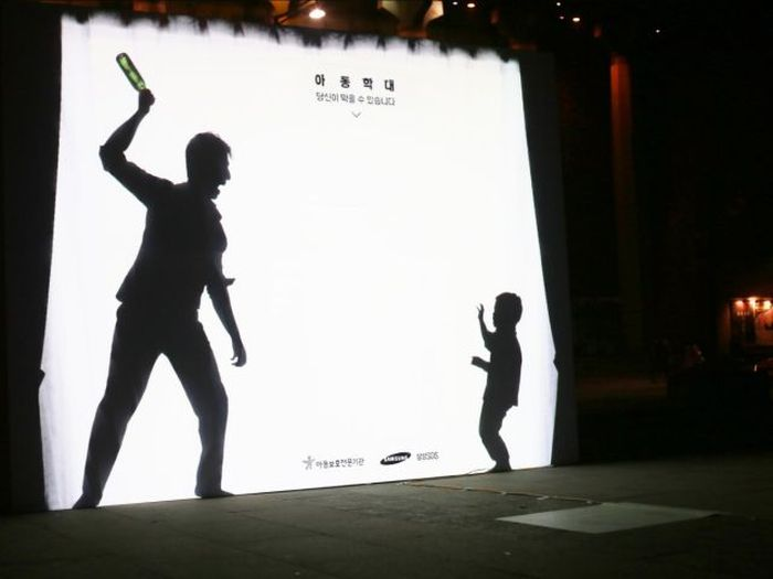 Interactive Billboard Is Raising Awareness About Child Abuse (4 pics)