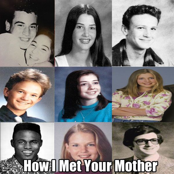 Famous TV Show Casts And Their Embarrassing Yearbook Photos (10 pics)