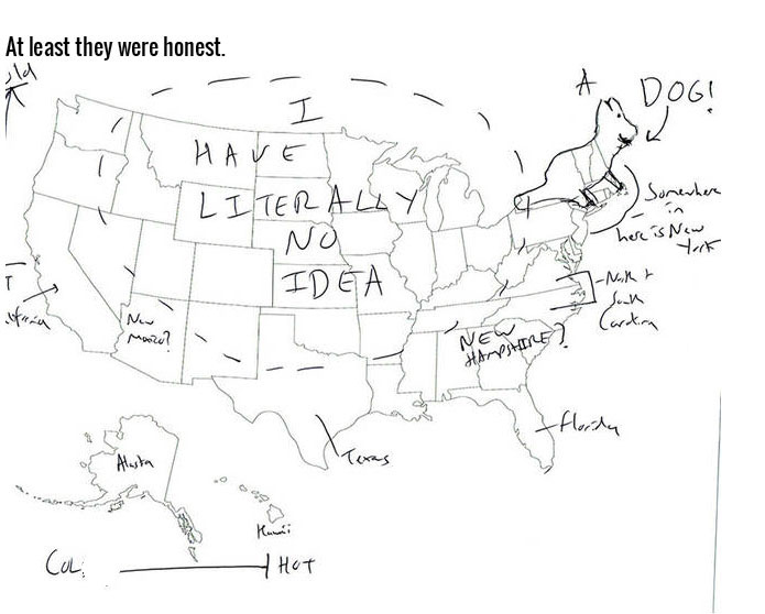 Europeans Trying To Name The 50 States Is Just Hilarious (15 pics)