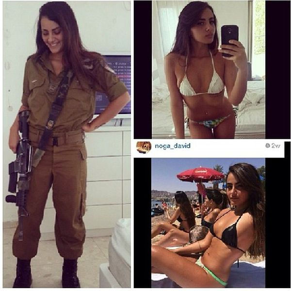 The Women Of The Israeli Army Are Sexy Soldiers (54 pics)