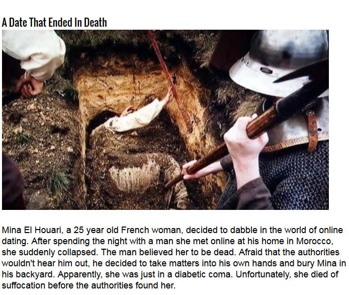 Terrifying Stories Of People That Were Buried Alive (5 pics)