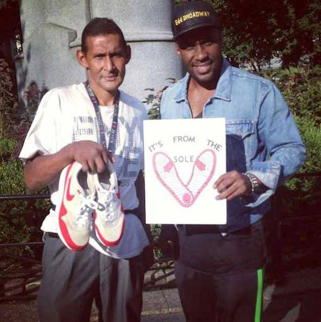 One Man In New York City Is Giving The Homeless Free Shoes (8 pics)