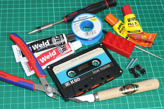 How To Make A MP3 Player Out Of A Cassette Tape (14 pics)