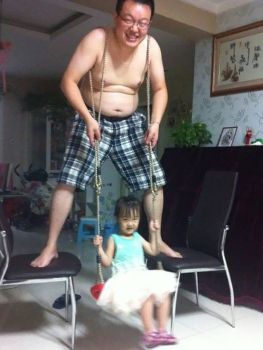 These Guys Are Definitely Winning When It Comes To Fatherhood (45 pics)
