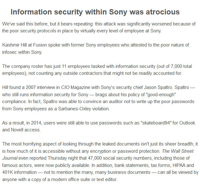 7 Revealing Secrets From The Recent Sony Leak (7 pics)