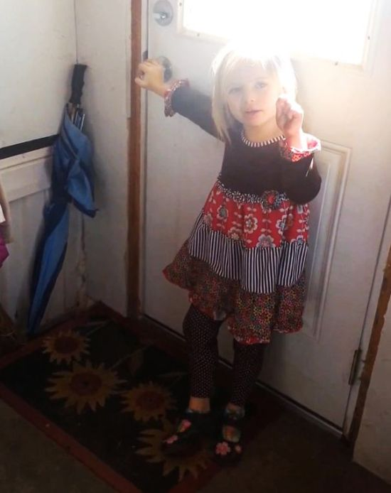 This 5 Year Old Girl Snuck A Baby Cow Into Her Home (10 pics)