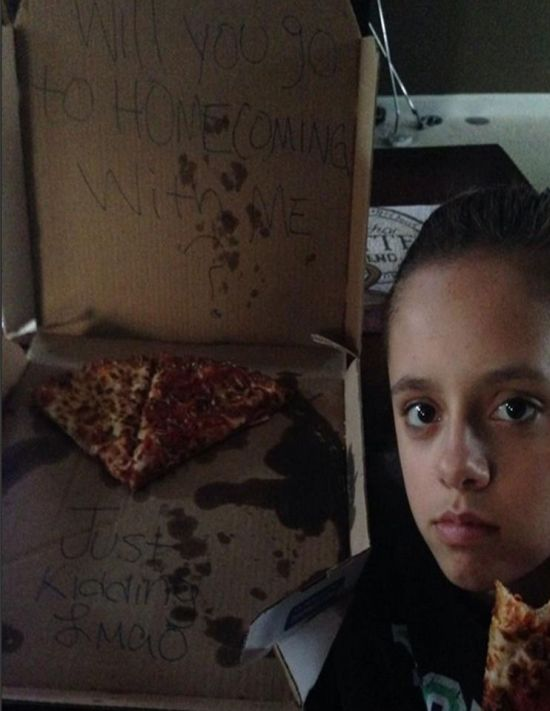 Using Pizza To Prank Someone Is Just Plain Cruel (3 pics)