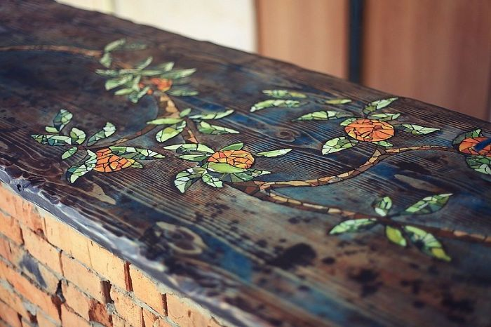 How To Make Your Own Mosaic Table (20 pics)