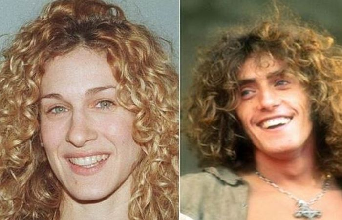 17 Male And Female Celebrities Who Look Eerily Similar (17 pics)