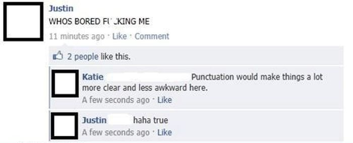 These People Desperately Need To Start Using Commas (17 pics)