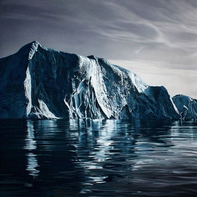 Zaria Forman Is Raising Awareness About Climate Change With Art (11 pics)