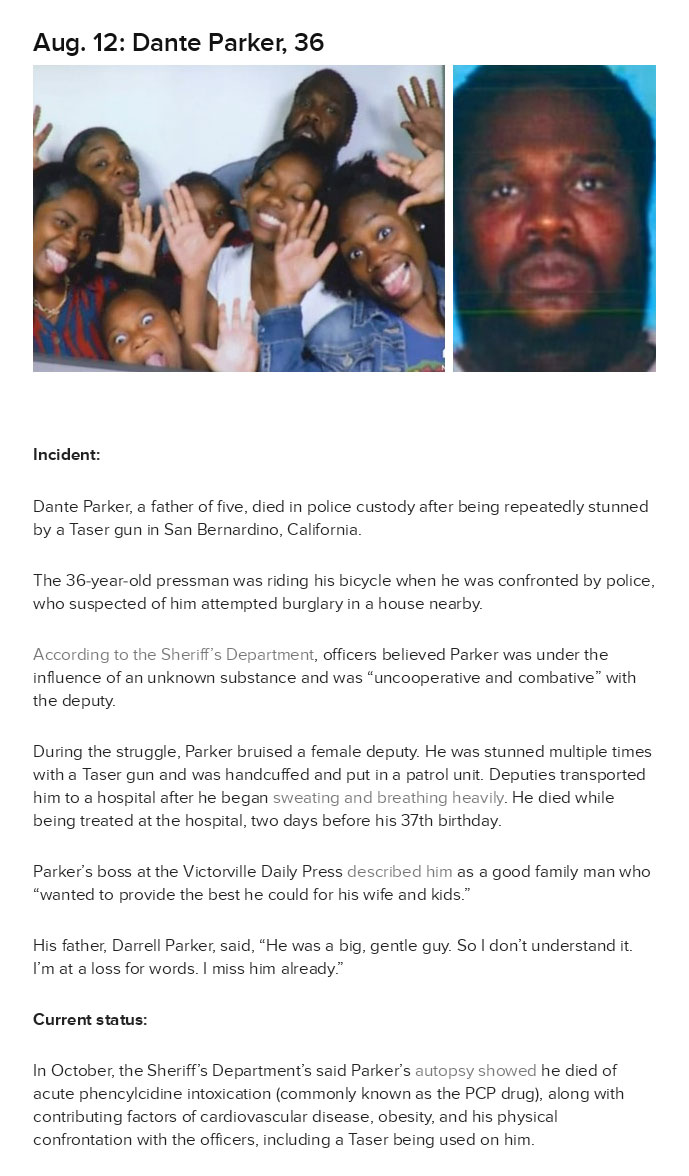 11 Unarmed Victims Who Were Killed By Cops In 2014 (12 pics)