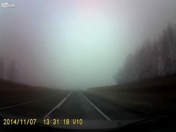Close Call In The Fog