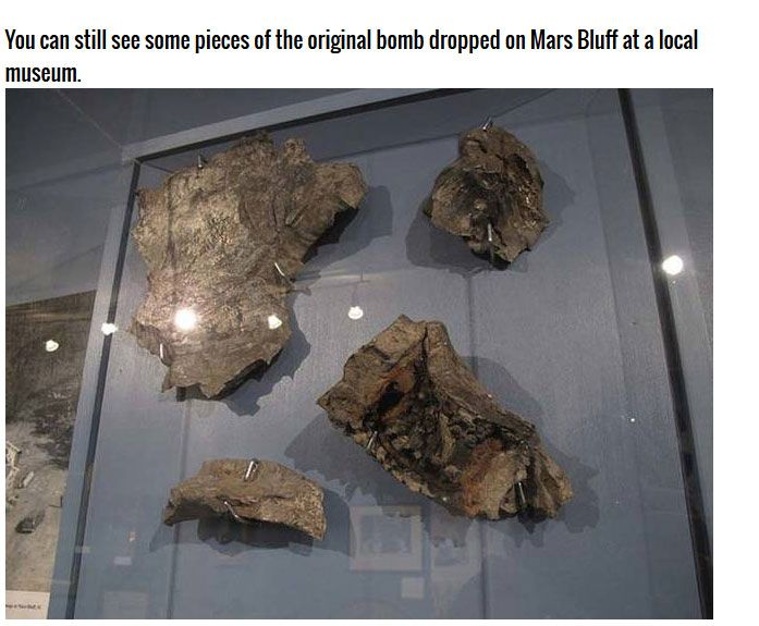 The U.S. Dropped An Atom Bomb On South Carolina In 1958 (8 pics)