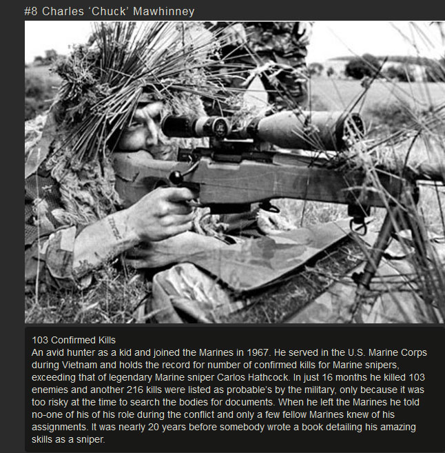 These Are The 10 Deadliest Snipers In History (10 pics)