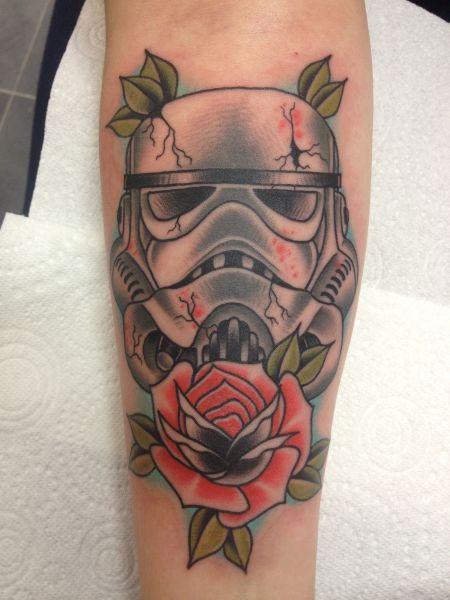 The Coolest Star Wars Tattoos This Galaxy Has To Offer (60 pics)