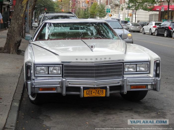 The Vintage Cars On The Streets Of New York City (49 pics)