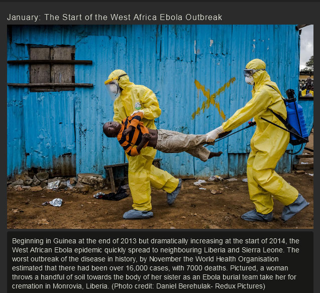 The Most Important World Events Of 2014 In Pictures (25 pics)