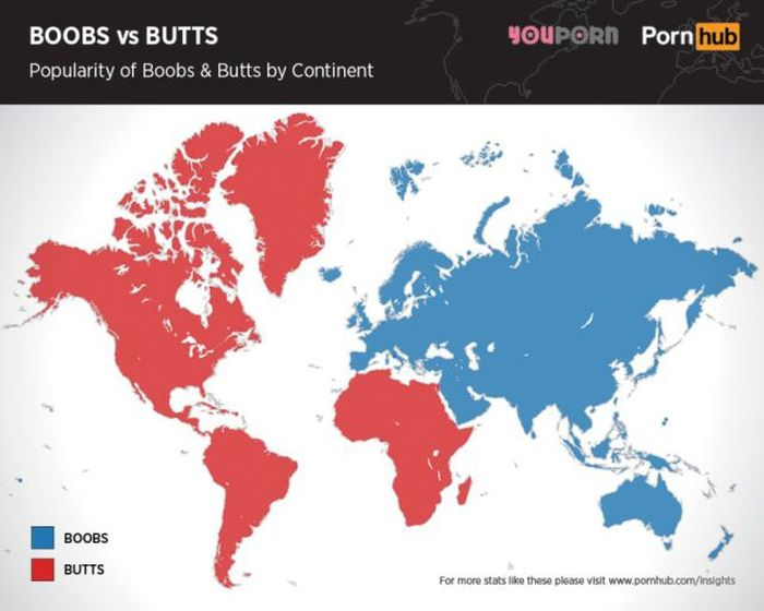 What Do Men Really Like Better, Boobs Or Butts? (7 pics)