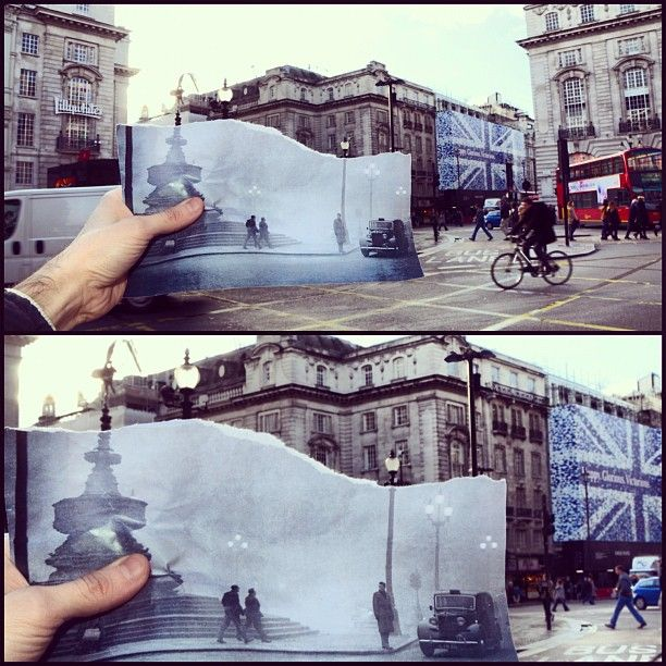 Comparing London Then And Now (16 pics)