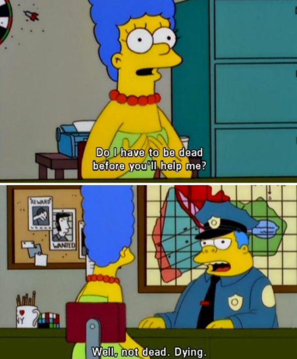 Chief wiggum is the worst cop of all time 18 pics - Police simpsons ...