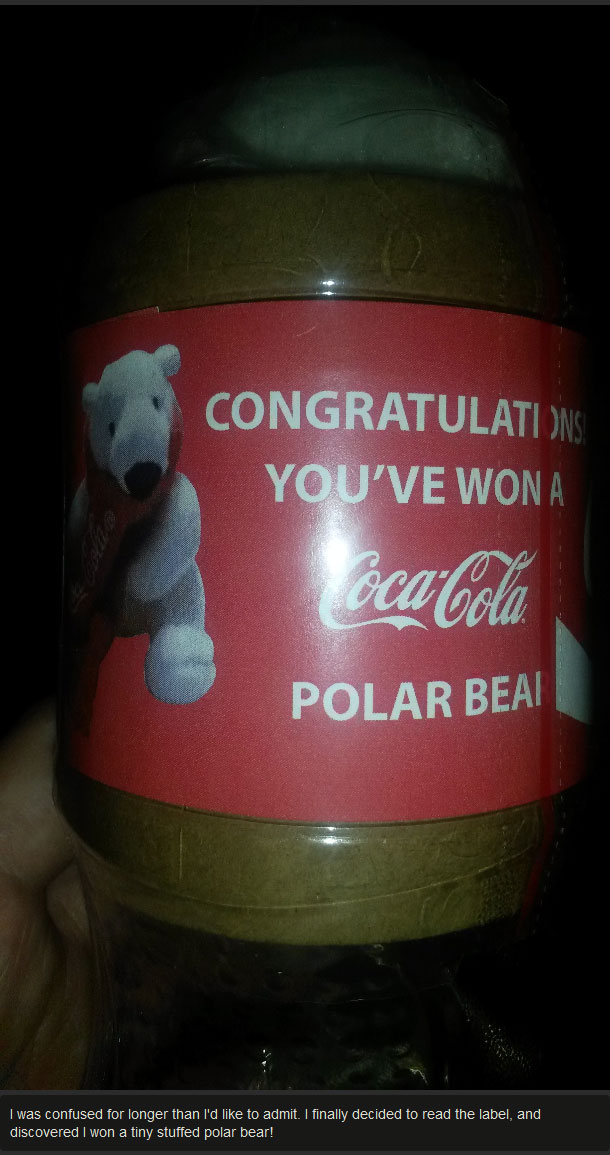This Coke Comes With A Special Surprise (5 pics)
