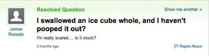 """Yahoo Answers"" Questions Show There's No Hope For Humans (36 pics)"