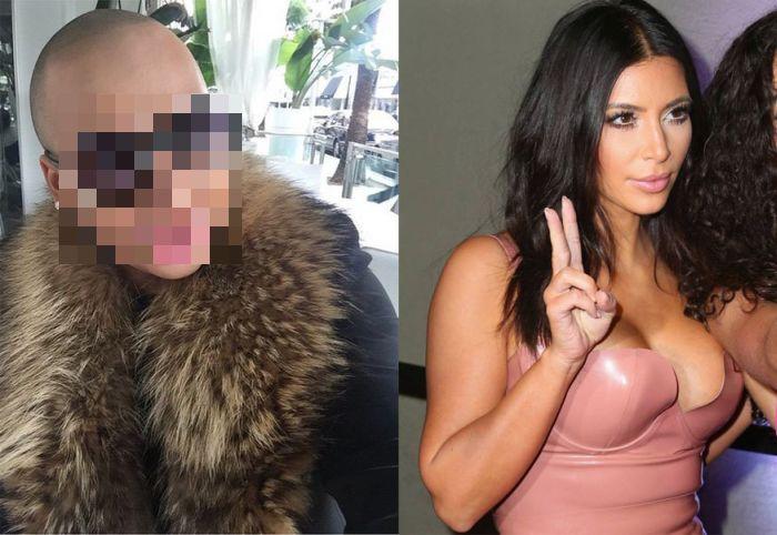 Man Spends £100,000 To Look Like Kim Kardashian (20 pics)