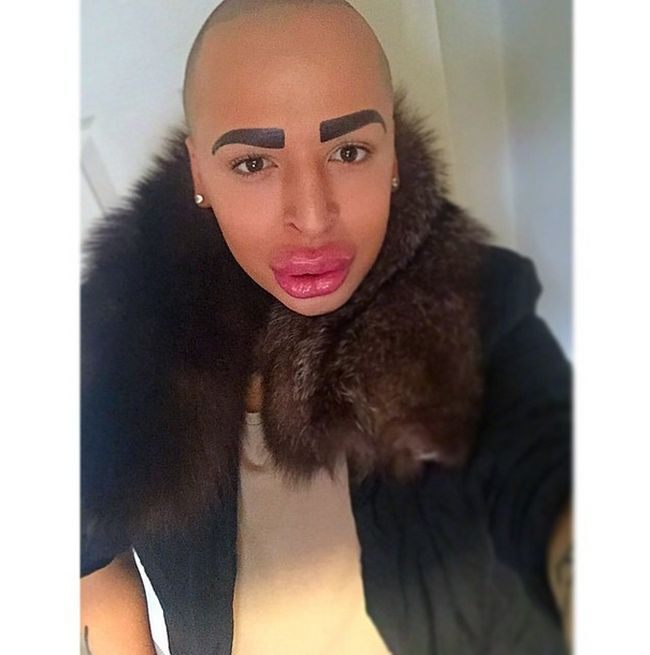 Man Spends £100,000 To Look Like Kim Kardashian (20 pics)