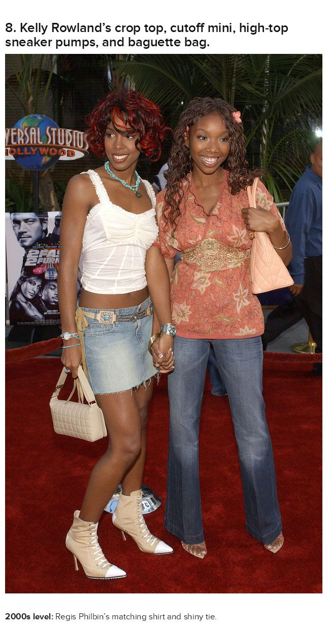 Celebrities Wearing Early 2000s Outfits That Will Make You Cringe (25 pics)