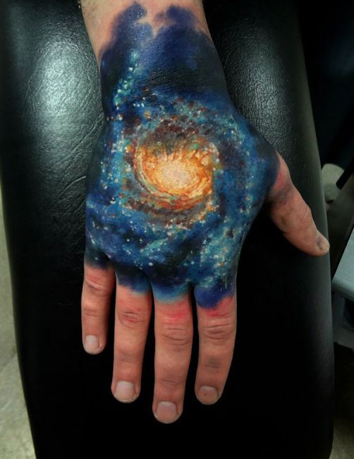 The Best Tattoo Ideas For People That Love Astronomy (42 pics)