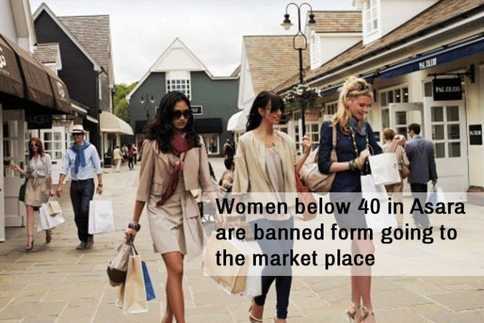 10 Things From Around The World Women Have Been Banned From (10 pics)